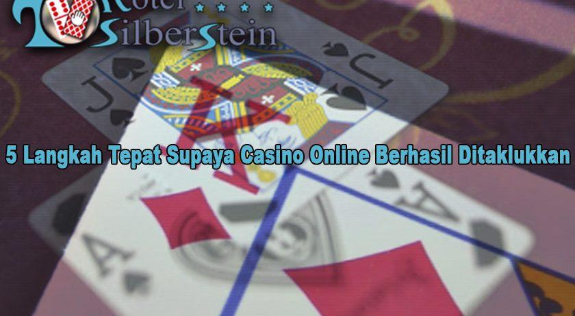 Casino Online Berhasil Ditaklukkan - HotelSilberstein